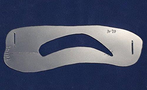 眉メイク用道具 眉毛テンプレート MAYU美 女性用 A-29 (固定具別売り)