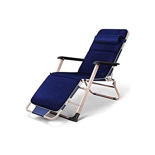 AWJ Silla Zero Gravity, sillón Plegable Ajustable para Exteriores, sillón reclinable con Capacidad de Peso de 250 Libras para Patio, Piscina, Playa, césped, terraza, Pat