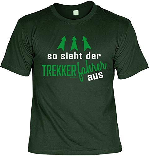 Laiberl motief Kerstmis T-shirt zo ziet de trekker uit boer man boer cadeau-idee boerengeschenk boerderij