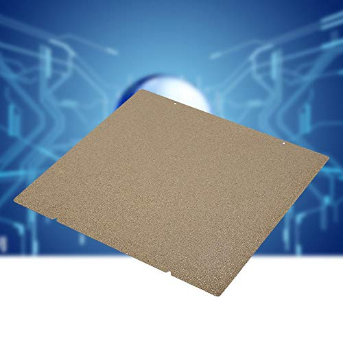 wosume 【𝐒𝐩𝐫𝐢𝐧𝐠 𝐒𝐚𝐥𝐞 𝐆𝐢𝐟𝐭】 PEI Double-Sided Magnetic Hot Bed Durable Elastic Steel Plate, Metal Reliable for Prusa i3 MK3S MK2.5 3D Printer Accessories