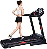 CUIJIUSHILV Treadmill Foldable Heavy-Duty Steel Frame, Treadmills for Home Gym Workout Fitness Electric Running Machine
