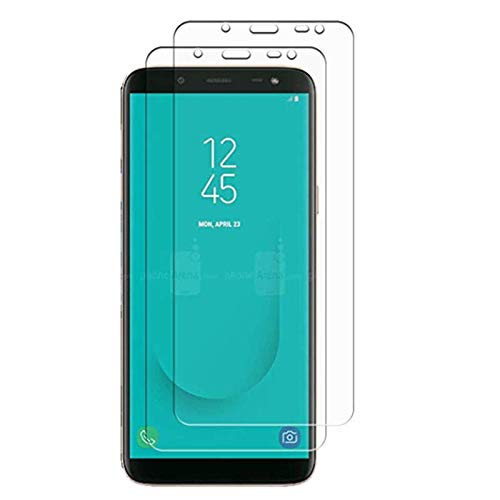 Price comparison product image Samsung Galaxy J6 2018 Screen Protector,  9H Hardness Scratch Resistant Ultra Thin Tempered Glass Film Samsung Galaxy J6 2018 [2-Pack]