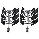 JINJINYI Keine Krawatte Schnürsenkel Elastic Lock Schnürsenkel Einstellbare Schnürsenkel für Sneaker Boots Board Freizeitschuhe Für alle Erwachsenen- und Kinderschuhe (Gray)