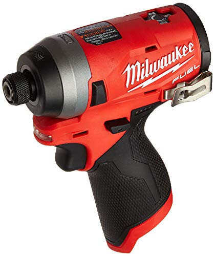 """MILWAUKEE'S Electric Tools MLW2553-20 M12 Fuel 1/4"""" Hex Impact Driver (Bare)"""