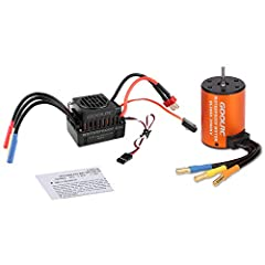 ★Suit for 1/10 scale RC car. ★3.175mm shaft diameter, 4 pole 12 slot high-torque motor design. ★High purity copper windings maximizes efficiency. ★Mutiple protection features: Low voltage cut-off protection, over-heat protection, throttle signal loss...