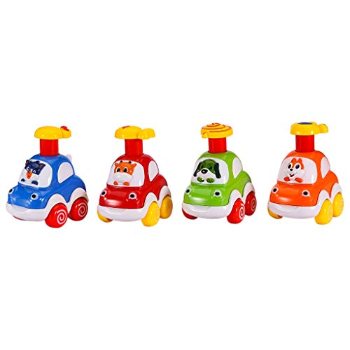 Buy Bargain Toddler Toy Cars Set, Cute Press and Go Cartoon Animal Car Toys for Baby (Multicolour)