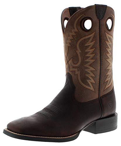 Ariat Herren Cowboy Stiefel 29633 Sport Ranger Westernstiefel Lederstiefel Braun 45 EU
