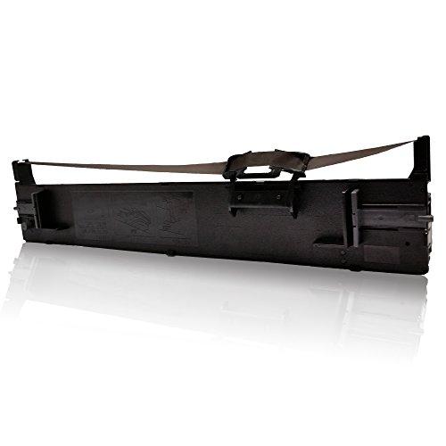 1x kompatibles Nylonband für Epson LQ-590 LQ590 LQ 590 C13S015337 C13 S015337 C13 S 015337 Schwarz Black K BK Ribbon