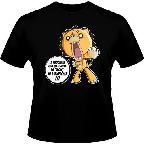 T-shirts Bleach parodique Kon : Un nom difficile à porter. : (Parodie Bleach)