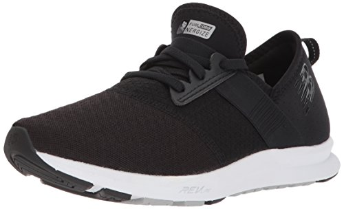 New Balance Women's FuelCore Nergize v1 FuelCore Training Shoe, Black and Grey, 8.5 D US