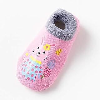 Lejia, Lejia 1Pairs for bebés de algodón Calcetines de Goma Antideslizante for bebé Piso Calcetines de la Historieta Zapatos Caliente Niños Calcetines Animal Espesa la Ropa de otoño