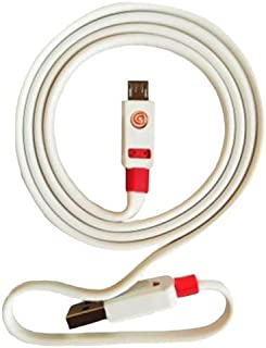 Griffin 2 Meter USB to Micro-USB Charge and Sync Cable for Mobile Phones - White