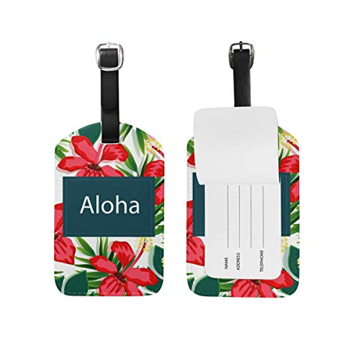 DEZIRO Gepäckanhänger Aloha Blumenblätter