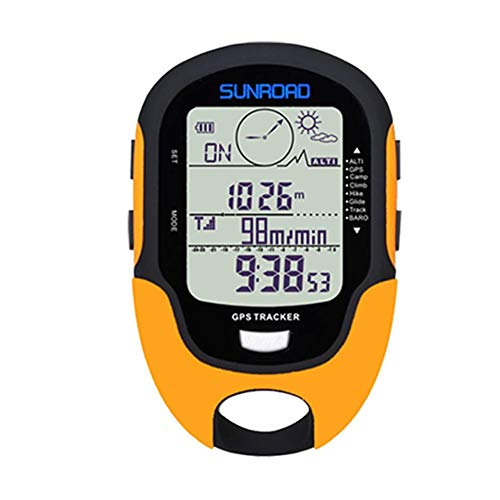 JUNERAIN Sunroad Multifunktionales elektronisches GPS Beidou System Höhenmesser mit Kompass