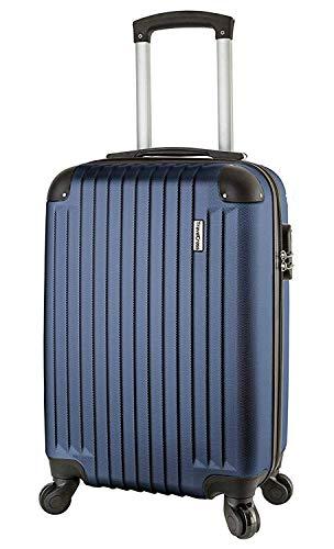 TravelCross Philadelphia 20'' Carry On Lightweight Hardshell Spinner Luggage - Dark Blue
