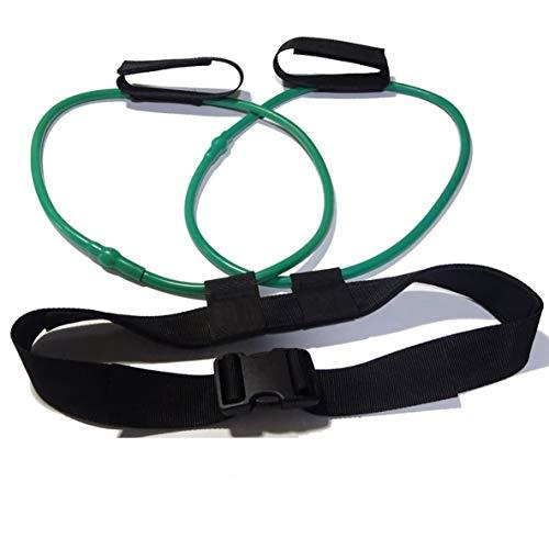 YUIO Fitness Frauen Booty Butt Band Widerstandsbänder Verstellbarer Taillengurt Pedal Exerciser für Gesäßmuskel Workout Free Bag (30LB)