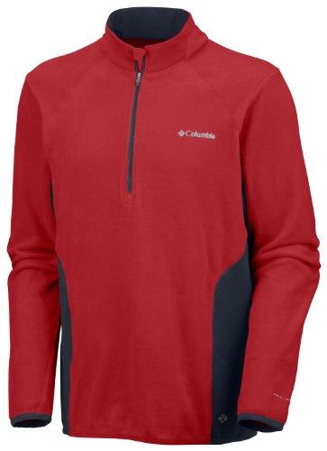 Columbia Camiseta Heat 360 II con Cremallera 1/2 para Hombre, Rocket, M