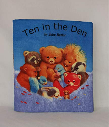 Ten in the Den Soft Cloth Books for Baby and Children