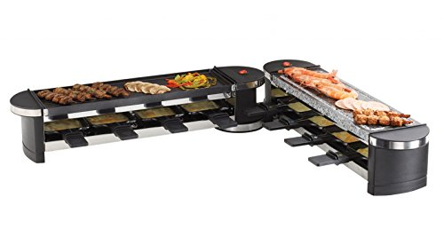 Domoclip doc160Raclette Grill und Modular schwarz 1200W