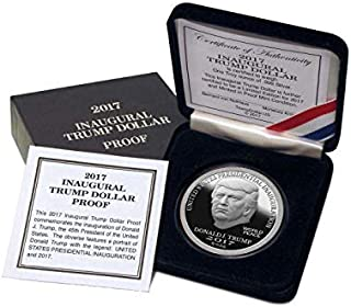 2017 DONALD TRUMP PROOF INAUGURAL SILVER DOLLAR COIN $25 1 TROY OZ. 999 $25 Proof Uncirculated