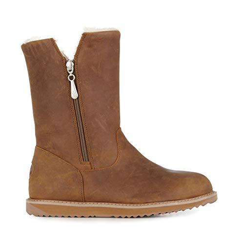 EMU Australia Gravelly Leather Womens Waterproof Sheepskin Boots Size 39 EMU Boots