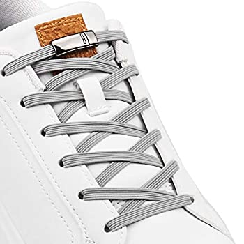 Aiboxin No Tie Elastic Shoelaces With Magnetic Shoe Laces Lock - One Size Fits All Kids & Adult