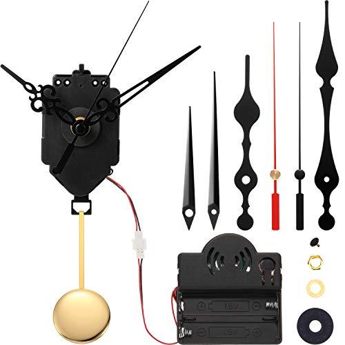 maquinaria para reloj de pared con soneria y pendulo