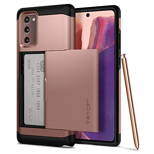 Spigen Slim Armor CS Hülle Kompatibel mit Samsung Galaxy Note 20 -Bronze
