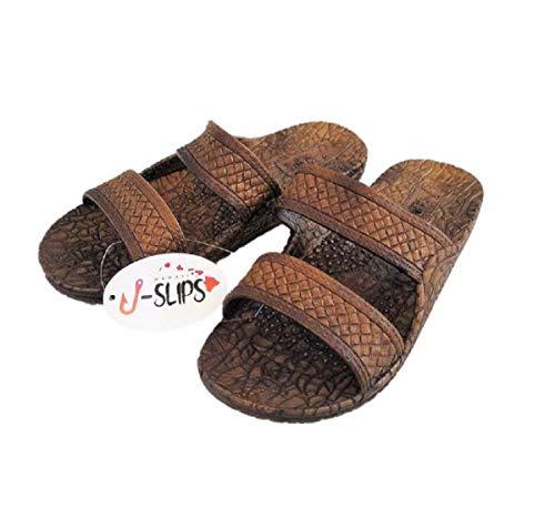J-Slips Hawaiian Jesus Sandals in 7 Cool Colors Unisex Kids and Women (Coco W7)