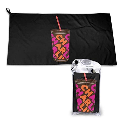 Yuantaicuifeng Charli D 'Amelio 15.7' 'X 31.5' 'Toallas de Secado rápido súper absorbentes, Toalla de baño para Piscina para Acampar/Deportes/Viajes/Fitness.