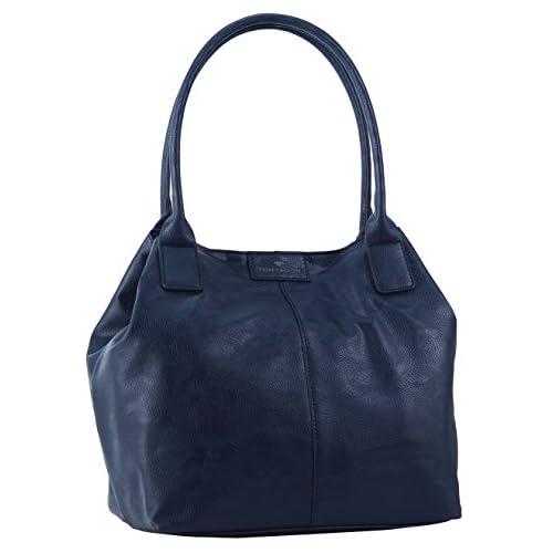 Tom Tailor Acc MIRIPU 10990 Borsa Shopper Donna 44x28x18 cm (B x H x T), Blu (Blau (blau 50))