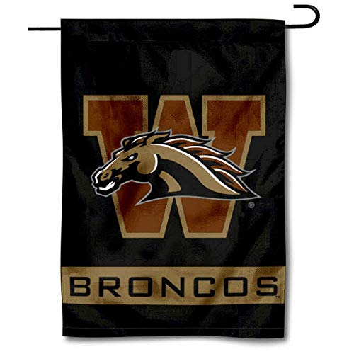 College Flags & Banners Co. Western Michigan Broncos Garden Flag