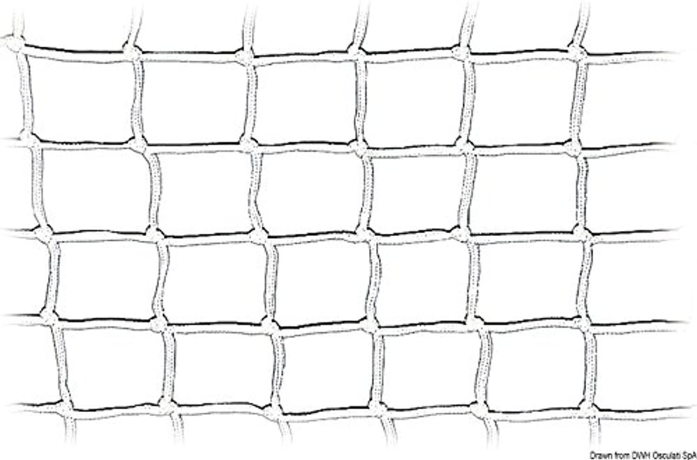 Osculati Pulpit Net White 600 mm X 30 m