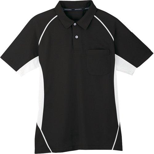 コーコス信岡 半袖ポロシャツ 13ブラック 3L MX707133L