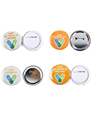 TIANTIAN Vaccinato Badge Vaccino Button Pins Got My Vaccine Vaccinato Contro Pin Button Distintivi Incoraggiati Salute Pubblica e Distintivi Clinici Pulsante Pinback per Virus Pin