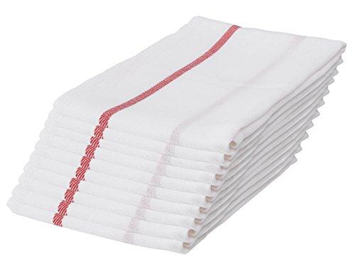 IKEA TEKLA IK57 - Juego de 10 paños de cocina (algodón, 65 x 50 cm)