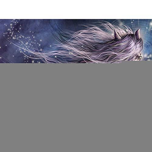 Tercc 5D Diamant Malerei Bilder Kits,Pferd 50x90cm/20x36in DIY Diamant Gemälde Voll Bohrer Stickerei Malerei Crystal Strass Stickerei für Haus,Wand Und Eingang Dekorationen
