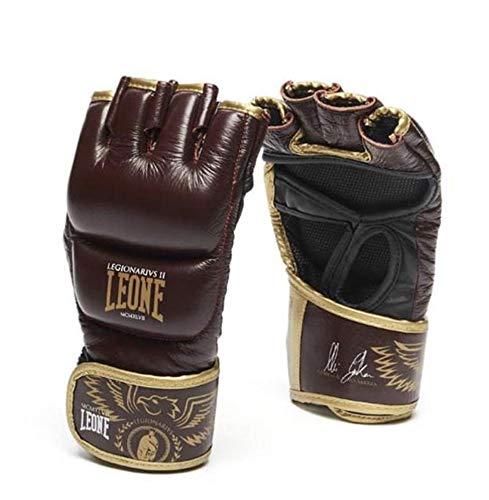 LEONE 1947 - Guanti MMA Legionarivs Ii Guanti MMA, Unisex – Adulto, bordeaux, m