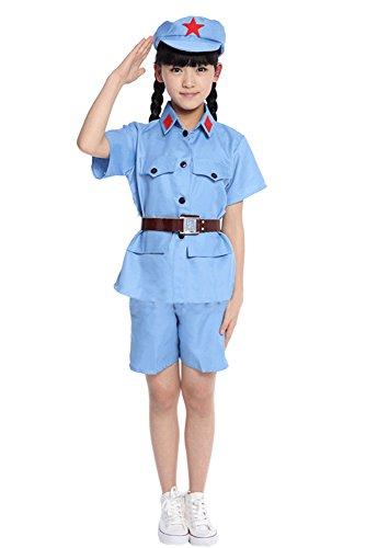 BOZEVON Adultos Niños Niñas Hombres Mujeres Ropa Militar,