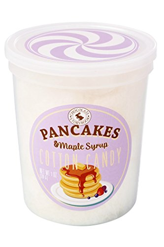 Pancakes & Maple Syrup Gourmet Flavored Cotton Candy  Unique Idea for Holidays, Birthdays, Gag Gifts, Party Favors