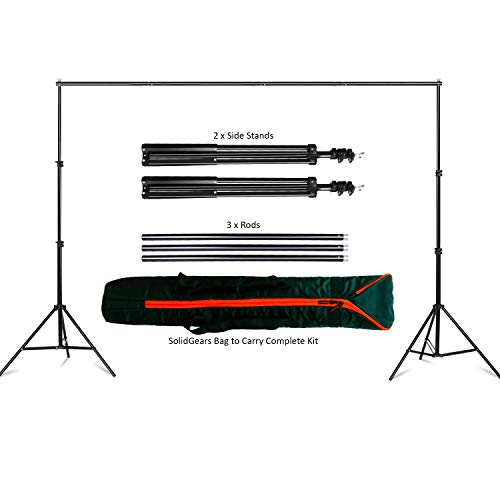 GiftMax 9X9 FT Backdrop Photo Light Studio Photography Background, (Background Stand)