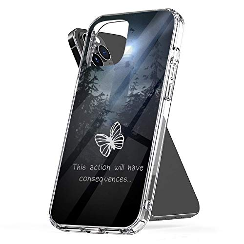 Phone Case Life is Strange - This Action Will Have Consequences Compatible with iPhone 6 6s 7 8 X XS XR 11 Pro Max SE 2020 Samsung Galaxy Tested Shockproof