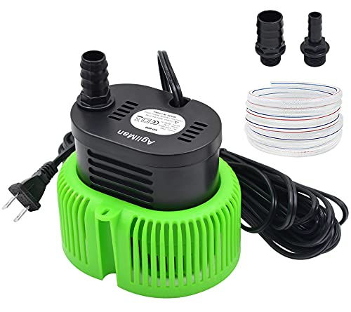 Pool Cover Pump above Ground - Submersible Water Sump Pump Swimming Water Removal...