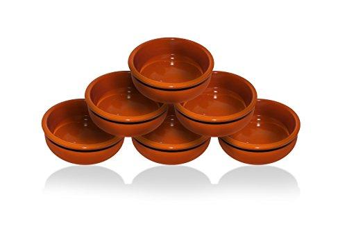 Tapas Tivoli/Set da 6 pezzi / 15cm / Semplicemente Bellissimo/Terracotta/Aggiunge classe e personalità alla tua tavola da pranzo