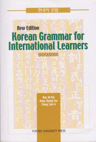 Korean Grammar for International Learners : Workbook