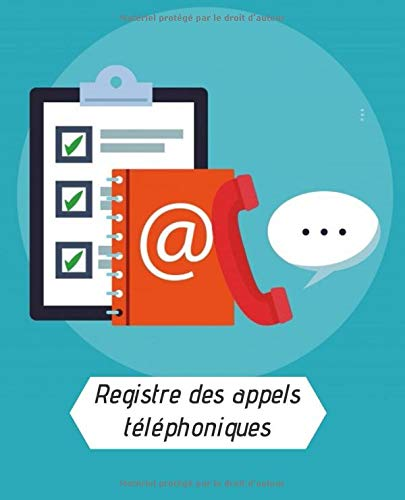 Registre des appels téléphoniques: renseignez l'identité de votre interlocuteur, l'entreprise qu'il représente, le motif de son appel ainsi que tous ... enregistrez plus de 2000 appels téléphoniques
