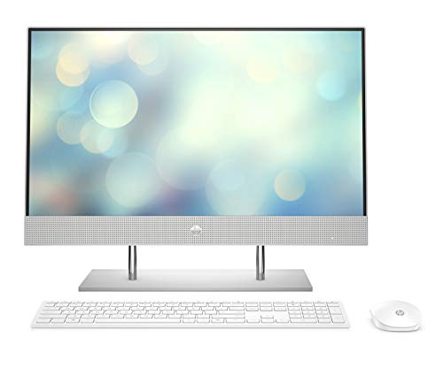 HP Pavilion 24-k0020ng (23,8 Zoll / Full HD Touch) All-in-One PC (Intel Core i7-10700T, 16GB DDR4 RAM, 1TB HDD, 1TB SSD, Nvidia GeForce GTX1650 4GB, Windows 10) weiß