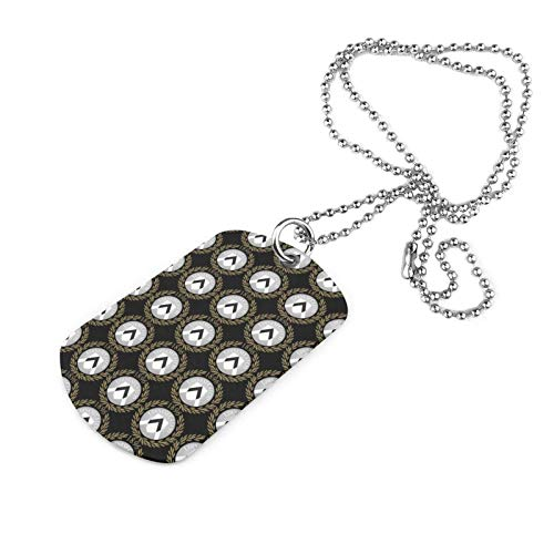 UDI-nese Cal-CIO Football Club Stainless Steel Military Necklace Dog Tag Jewelry Pendant
