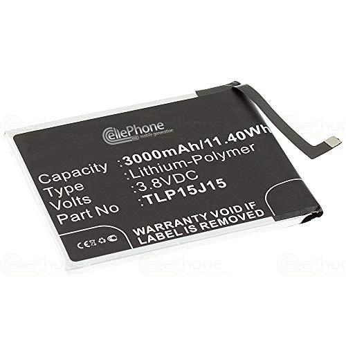 cellePhone Batteria Li-Polymer Compatibile con Wiko Fever (sostituita TLP15J15)