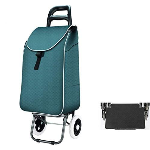 ZLININ Y-Longhair Carros de la Compra, Senderismo carros, sillas de Paseo, Plegables carros, carros portátiles, Desmontable Bolsas de la Compra. Carritos de la Compra